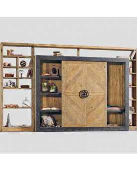Книжный шкаф Dialma Brown DB003537