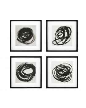 Картина Black & White Collection I set of 4
