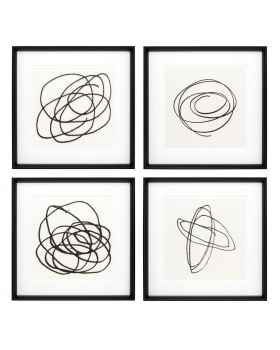 Картина Black & White Collection II set of 4