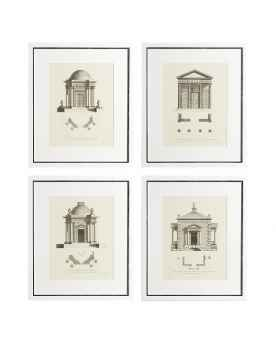 Картина Architecture set of 4