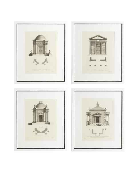 Картина Architecture set of 4