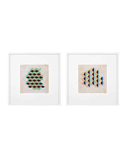 Картина Geometric Pattern Play set of 2