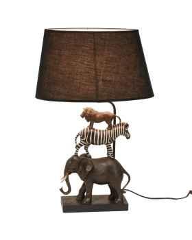 Настольная лампа Safari black shade