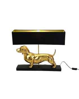 Настольная лампа Vienna black/gold