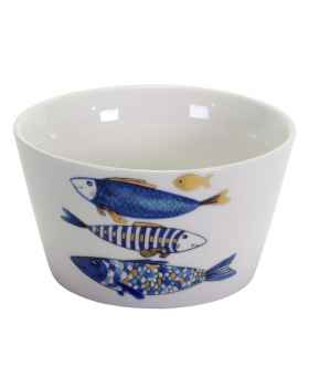 Пиала Blue Fish gold edition